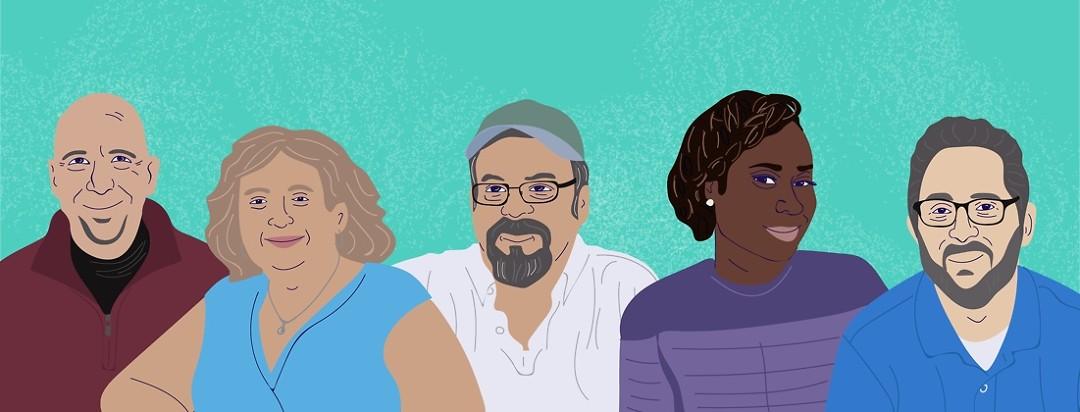 multiple myeloma advocate caricatures